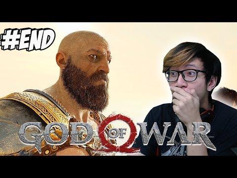 AKHIRNYA TAMAT + SECRET ENDING KRATOS - GOD OF WAR 4 #END