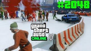 GTA 5 ONLINE Luftschlag und sie ahnen rein gar nichts #2048 Let`s Play GTA V Online PS4 2K