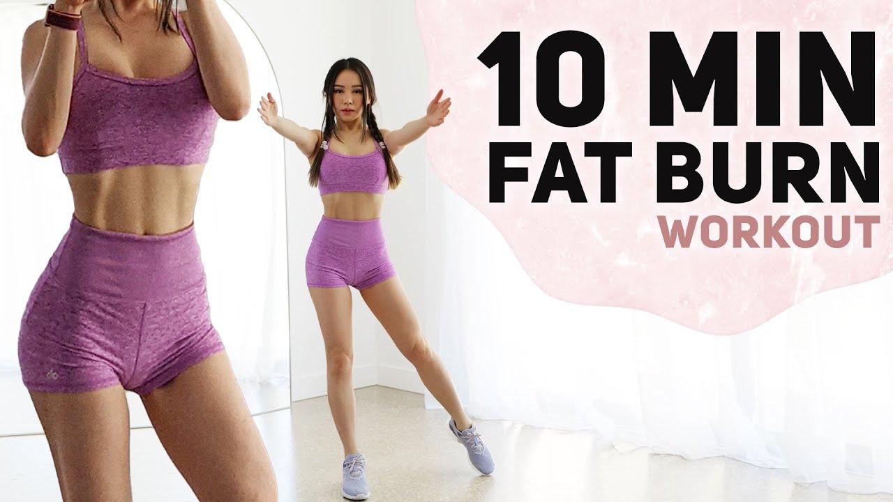 10 Min Cardio workout to burn Fat   Fun 3 Week Weight Loss Challenge
