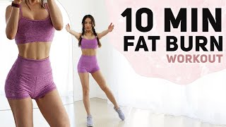 10 Min Cardio workout to burn Fat | Fun 3 Week Weight Loss Challenge