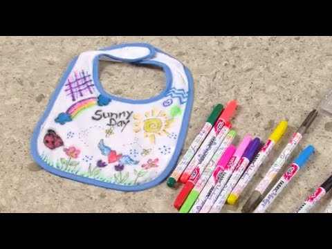 1fb5f91e2 How to Fabric Marker Onesies & Bibs! - YouTube