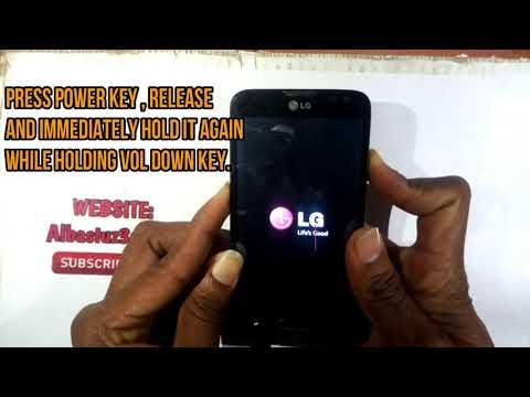 Factory Reset LG CE 0168 Phone Lock(pattern, Lock Code).