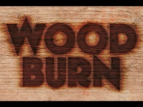 photoshop tutorial how to make a wood burn brand youtube. Black Bedroom Furniture Sets. Home Design Ideas