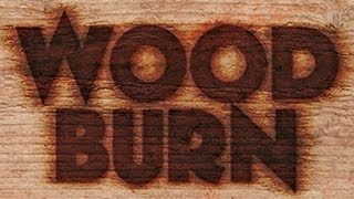 Photoshop Tutorial: How to Make a WOOD BURN BRAND.