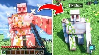 Paso Minecraft pero me Transformo en TODOS los MOBS que mato