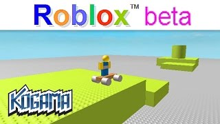 The FIRST MAP OF ROBLOX in KOGAMA