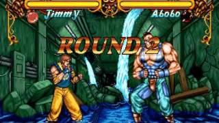 Double Dragon (Neo Geo/Arcade) - Jimmy - Completo