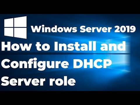Install And Configure DHCP Server In Windows Server 2019 Step By Step Guide