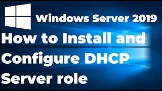 Install and Configure DHCP Server in Windows Server 2019 Step By Step Guide cмотреть видео онлайн бесплатно в высоком качестве - HDVIDEO
