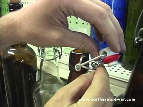 Installing a Wire Bale on EZ Cap Bottle