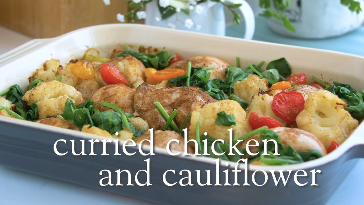 Slimming World Syn Free Curried Chicken And Cauliflower Recipe Free