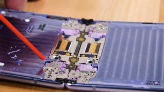 Galaxy Z Flip Teardown and Dust Test FAILURE!