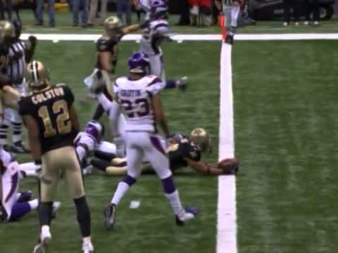 Flashback: Saints beat Vikings for NFC title