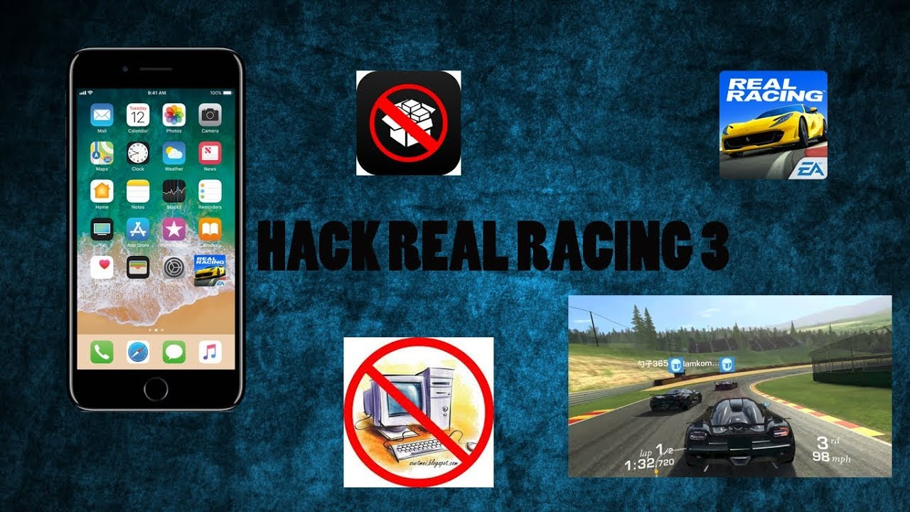 Real Racing 3 Hack Unlimited Gold (All Versions)