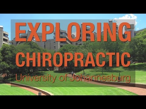 Exploring Chiropractic - University of Johannesburg