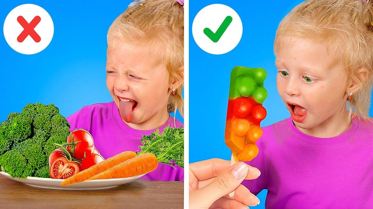 Лучшие идеи снеков для родителей || Простые идеи блюд для всей семьи