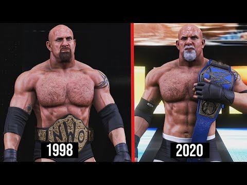 WWE 2K20 Goldberg All World Championship Wins! (WWE/WCW)