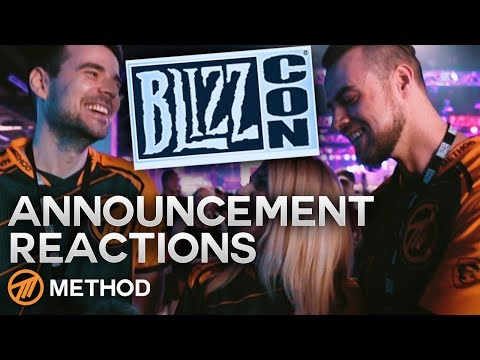BlizzCon 2018 Opening Ceremony Announcement Reaction | Method