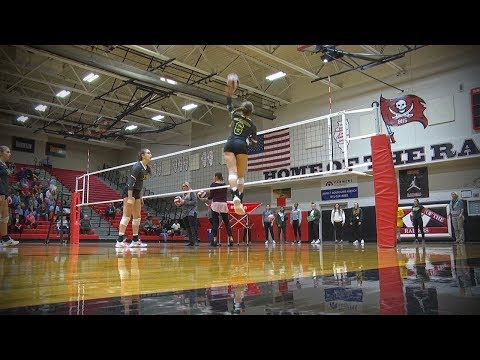 Waubonsie Valley vs. Joliet Catholic Academy, Girls Volleyball // 10.26.17