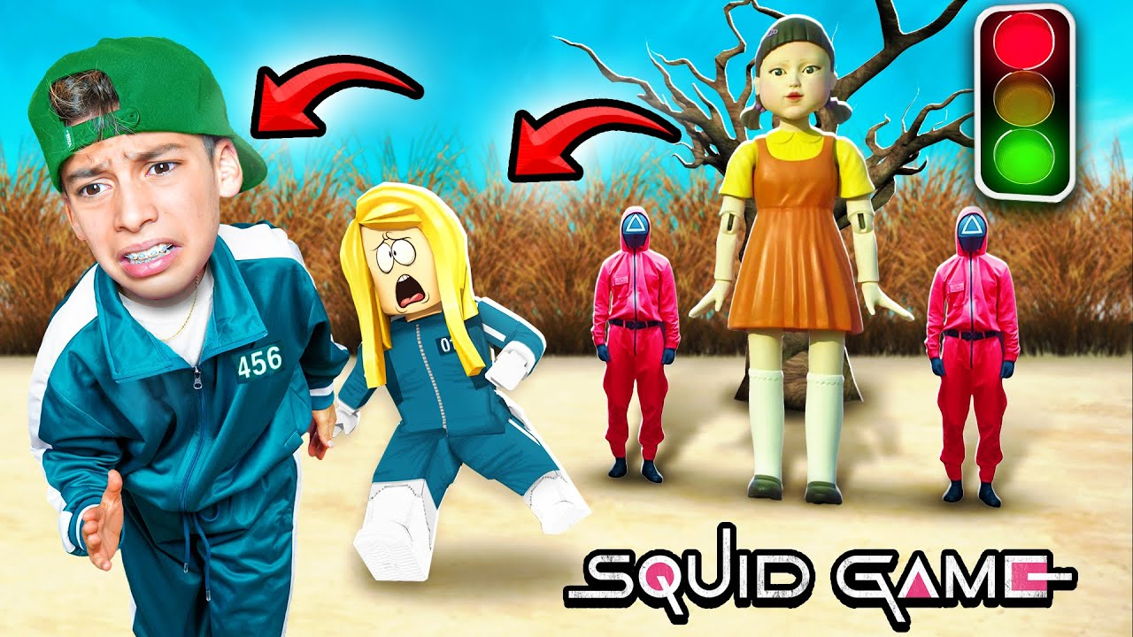 Playing SQUID GAME With My GIRLFRIEND 😢
