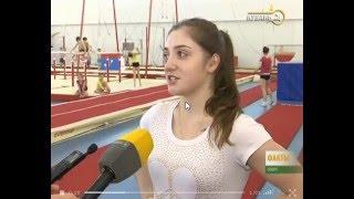 Алия Мустафина на чемпионате России.