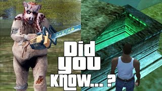 GTA San Andreas Secrets and Facts 5