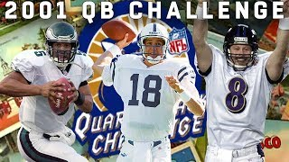 Manning, McNabb, Dilfer & More Compete in Accuracy, Distance, & Agility
