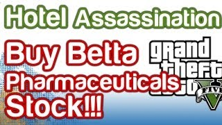 Grand Theft Auto 5 GTAV - Hotel Assassination Guide - Buy Betta Pharmaceuticals!!! | WikiGameGuides