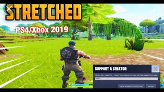 How to get STRETCHED Resolution on PS4 in season 10 FORTNITE