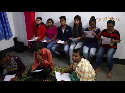 Honey Bafna In Conversation With Budding Artists At Udita Skills (Video-4)