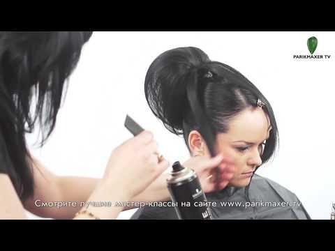 Элегантная прическа Prom updo. parikmaxer tv парикмахер тв