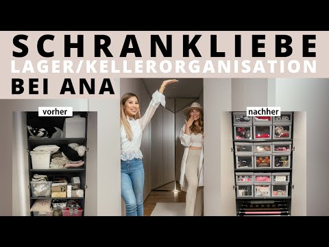 SCHATZKAMMER von Ana Johnson organisieren! Lager & Keller l Schrankliebe by Kisu
