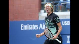 Alexander Zverev vs. Radu Albot | US Open 2019 R1 Highlights