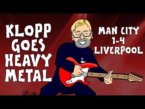 Klopp does Heavy Metal Football! Manchester City 1-4 Liverpool (2015 Goals Highlights)
