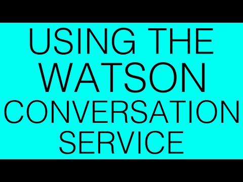 IBM Watson: Using the Conversation service! (Pizza Helper/Chatbot)