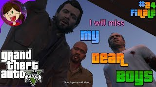 I HAVE A DEATH WISH | Grand Theft Auto 5 [XbOne Stream Let's Play Pt24 FINALE]