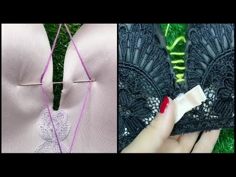 Creative sewing hacks with your bra