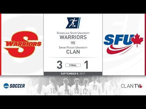 SFU Clan Women's Soccer vs. SSU - September 8, 2017