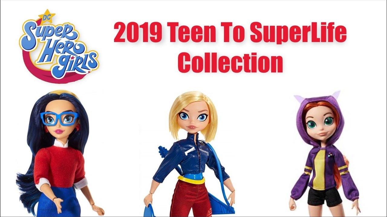 DC Super Hero Girls Teen to Super Life Batgirl Doll