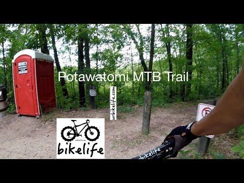 Potawatomi MTB Trail on GoPro