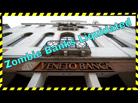 Two Zombie Banks Liquidated