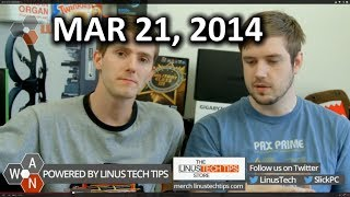 The WAN Show: iPhone 6 Rumours, Oculus DK2 & Project Morpheus, Moto 360 - March 21, 2014