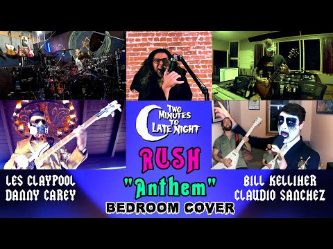"Coheed and Cambria + Mastodon + Primus +  Tool + Mutoid Man Cover RUSH's ""Anthem"""