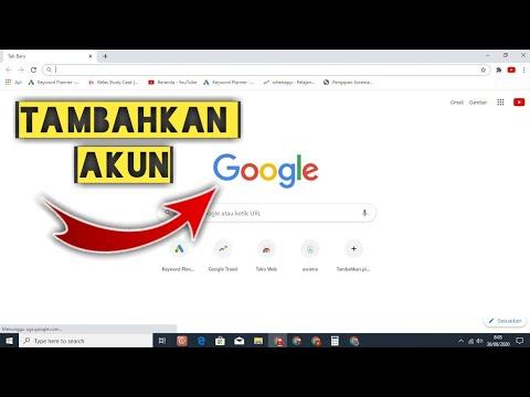 2 Cara Menambahkan Akun Google Di Laptop Dan Pc Youtube