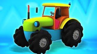 Traktorin Purkaminen | Lelu Laatikko Unboxing | Koulutusvideo | Tractor Unboxing | Kids Tv Suomi