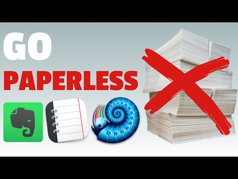 3 apps to go paperless (2017)