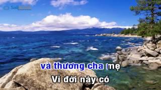 [Karaoke TVCHH] 377- NGUYỆN CẦU CHO CHA MẸ - Salibook