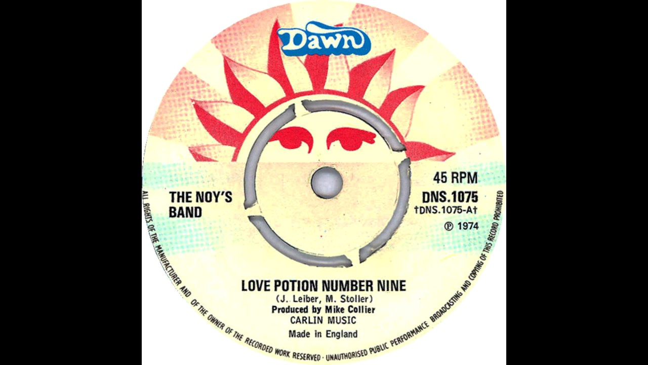 The noys band love potion number nine the clovers cover