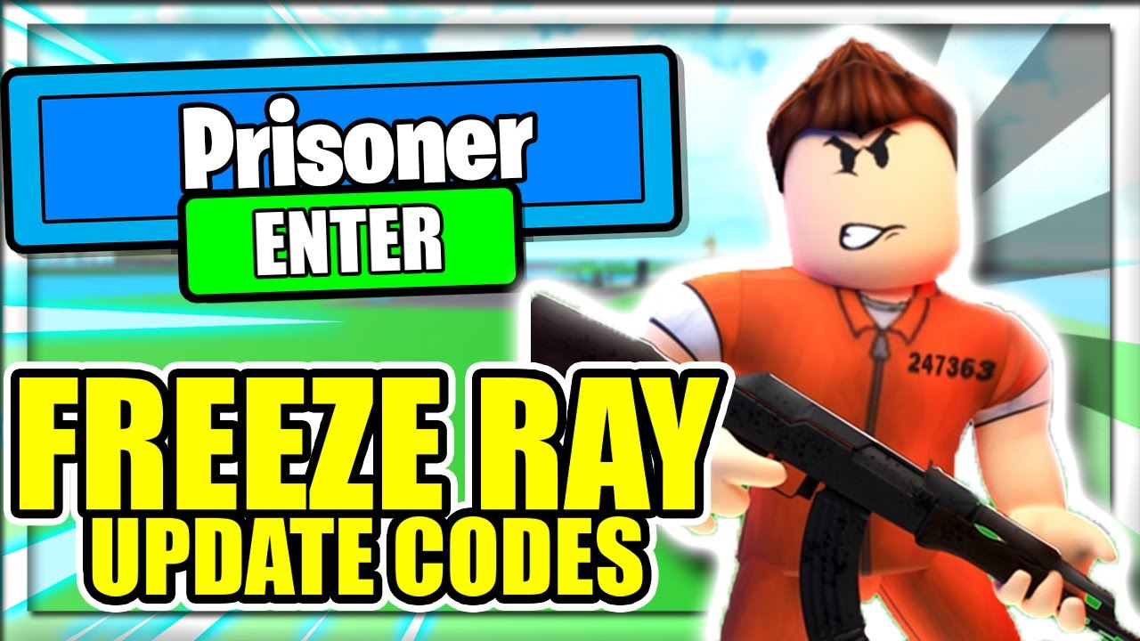 Code Prison Tycoon Roblox All New Freeze Ray Update Codes Prison Tycoon Roblox Youtube