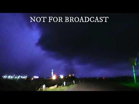Tornado in Norman, Oklahoma. 10/21/2017